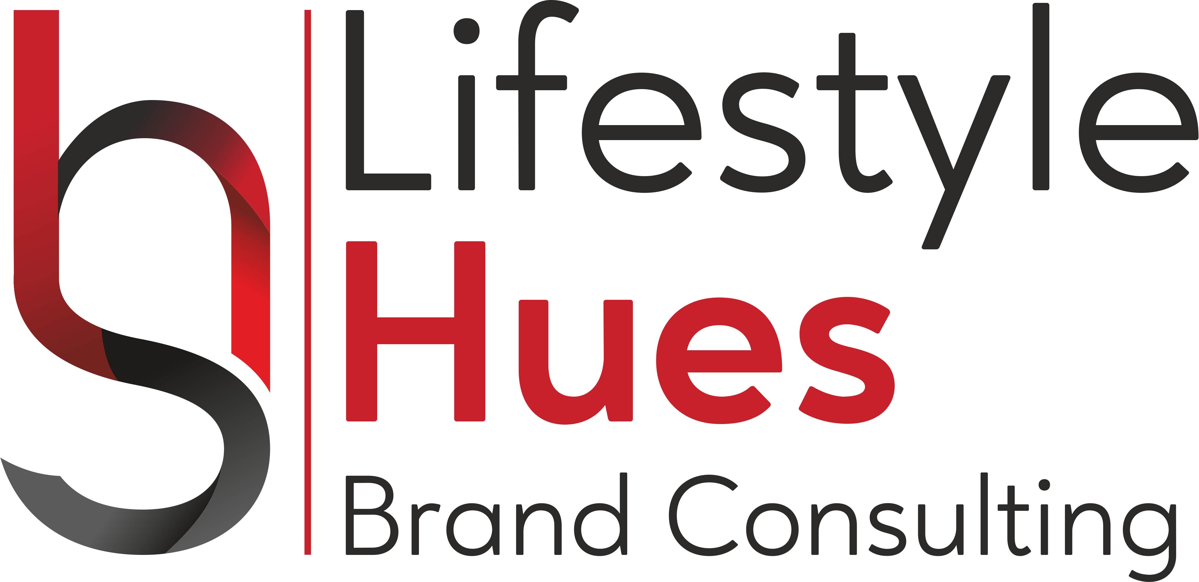 Lifestyle Hues Brand Consulting logo white