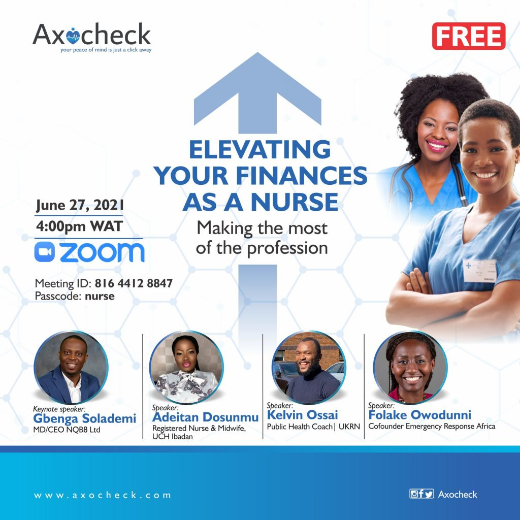 ELEVATING YOUR FINANCES AS A NURSE AXOCHECK
