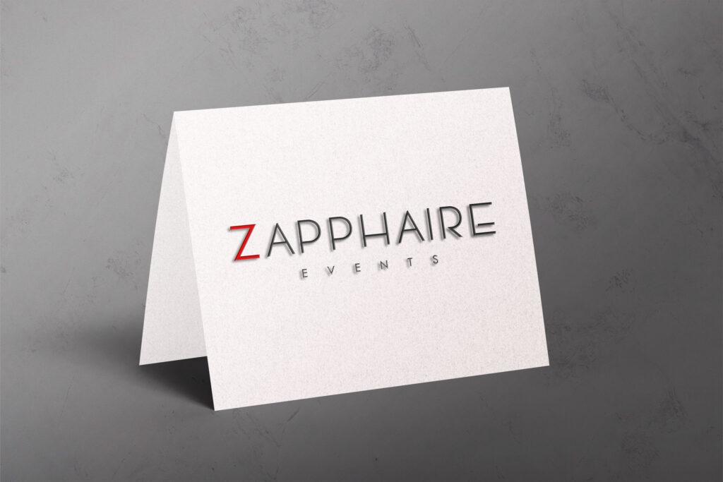 Zapphaire logo mockup1