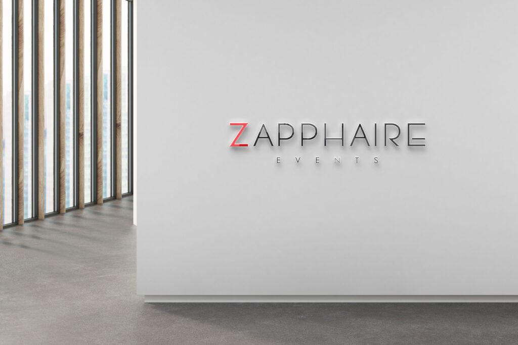 Zapphaire logo mockup2