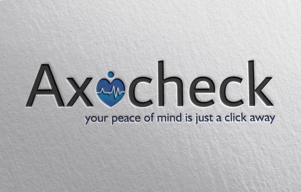 axocheck logo mockup